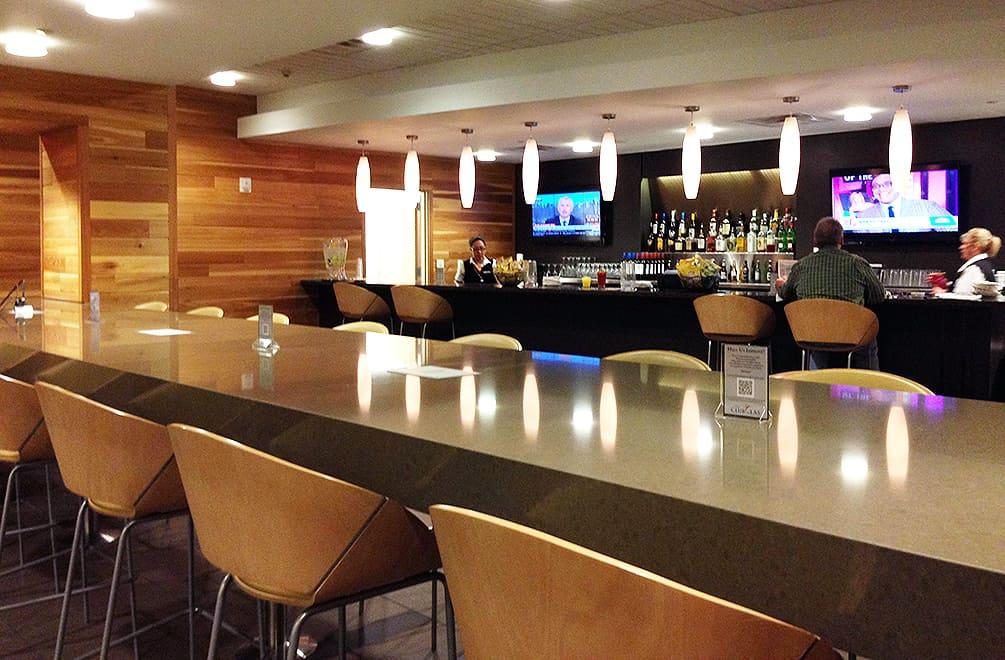 Bar at LAS Lounge at Las Vegas Airport