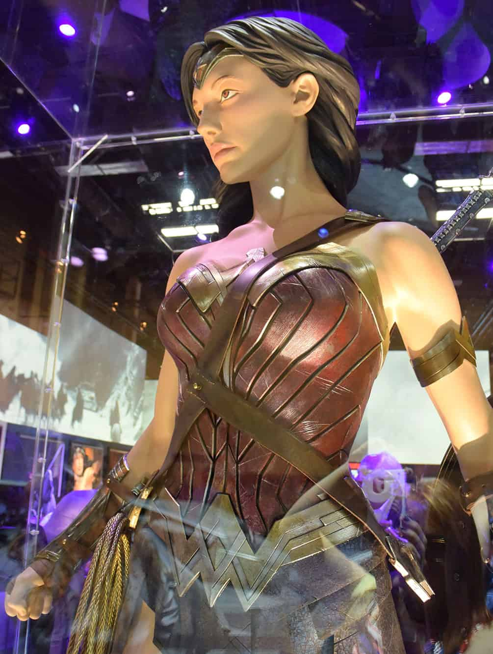 Wonder Woman at the Licensing Expo