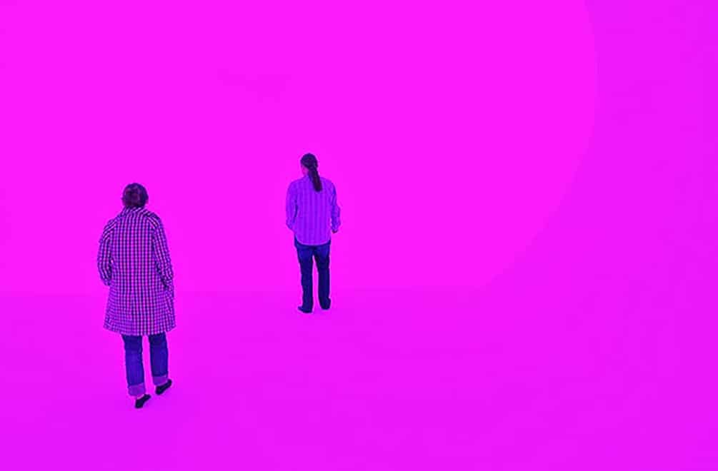 James Turrell at Louis Vuitton Las Vegas Akhob light installation