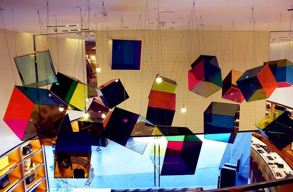 Xavier Veilhan art at Louis Vuitton Las Vegas