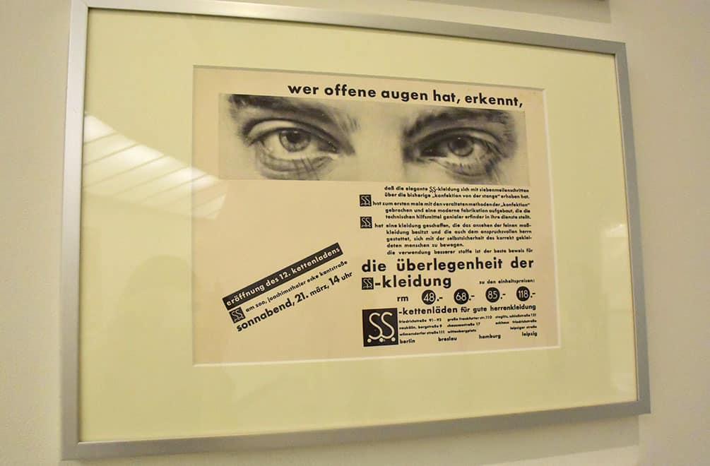 Moholy-Nagy advertisement with eye photo