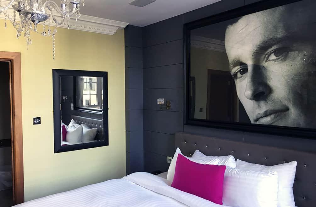 Angel's Share Hotel Room