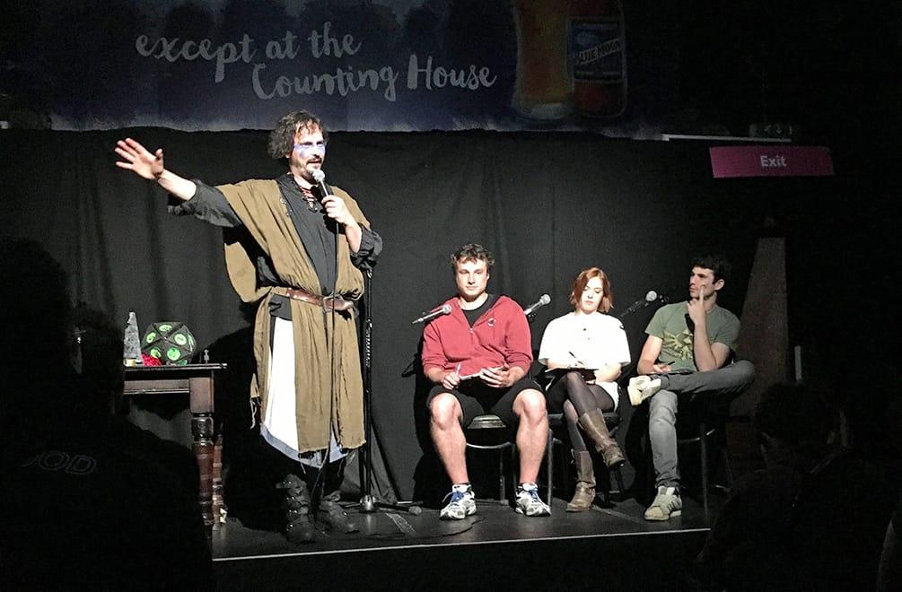 MMORPG show at the Edinburgh Fringe Festival