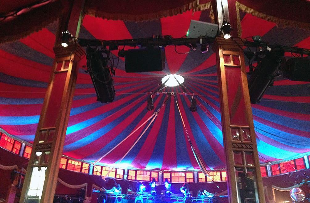 Speigeltent at the Edinburgh Fringe Festival