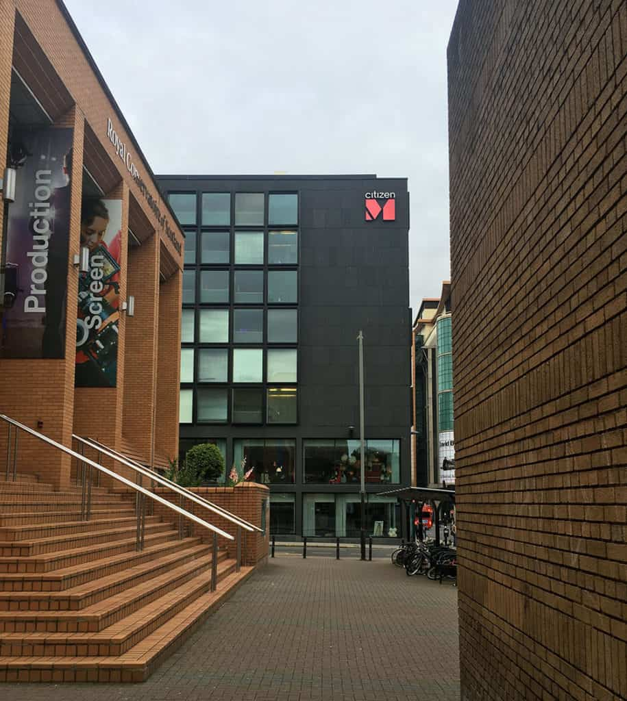CitizenM Glasgow, hotel exterior