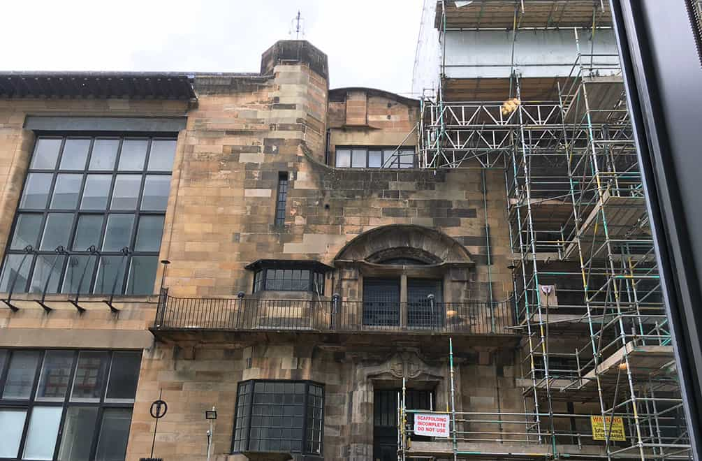 Glasgow School of Art restoration