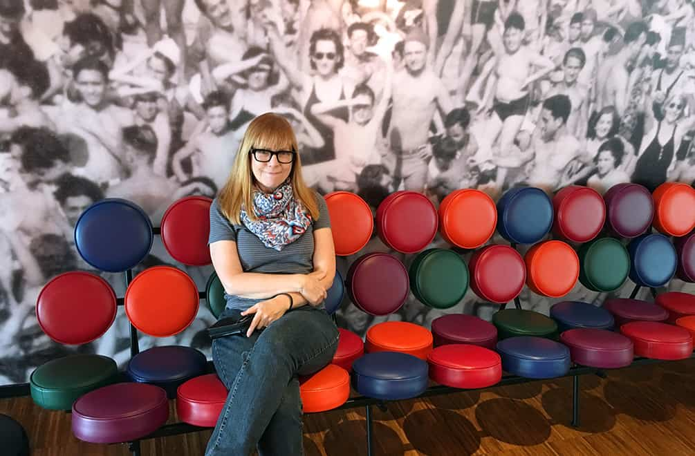 Nelson Marshmallow sofa at CitizenM, Glasgow