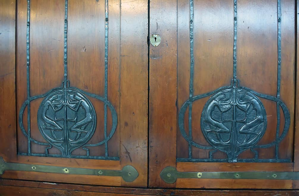 Mackintosh cabinet metalwork