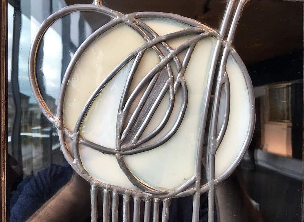 Mackintosh rose detail