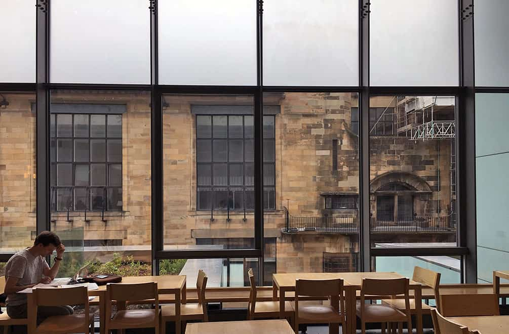 Study at the Glasgow School of Art