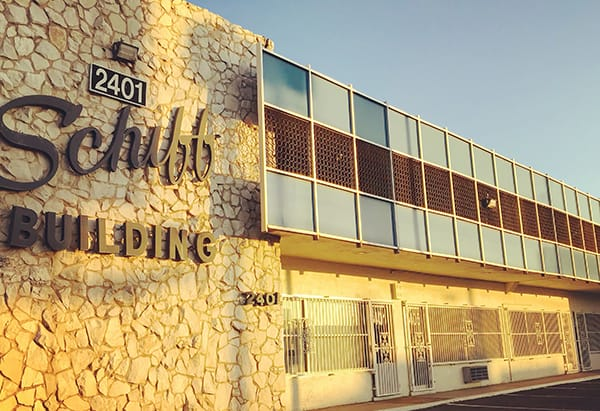 Schiff Building, modern architecture in Las Vegas