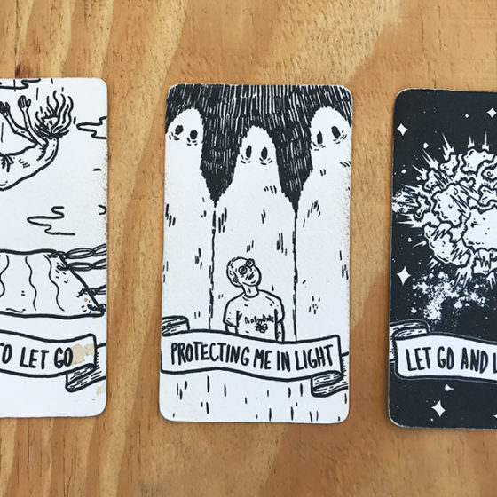 Cards picked at Dream Wanderer