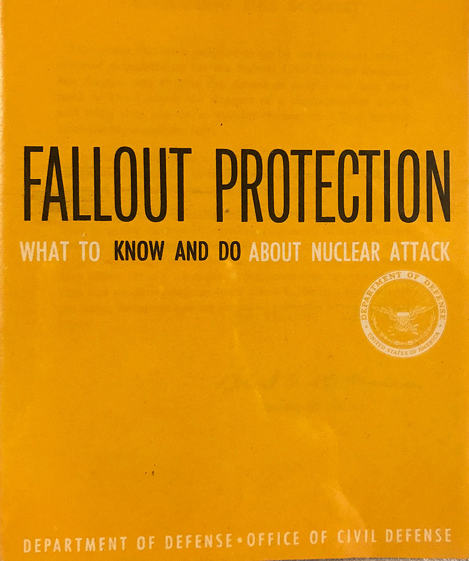 Booklet on Fallout Protection